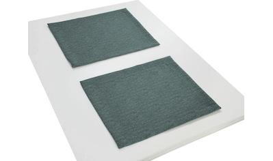 Wirth Platzset »TORBOLE«, (Packung, 2 St.) kaufen