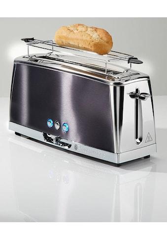 RUSSELL HOBBS Toaster »Luna Moonlight 23251-56«, 1 langer Schlitz, für 2 Scheiben, 1420 W kaufen