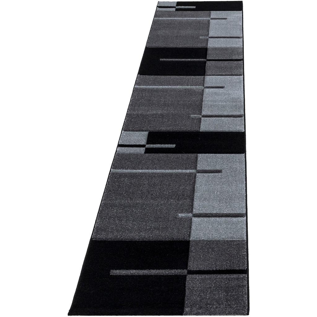 Ayyildiz Läufer »Hawaii 1310«, rechteckig, 13 mm Höhe, handgearbeiteter Konturenschnitt, 80cm x 300cm (BxL)
