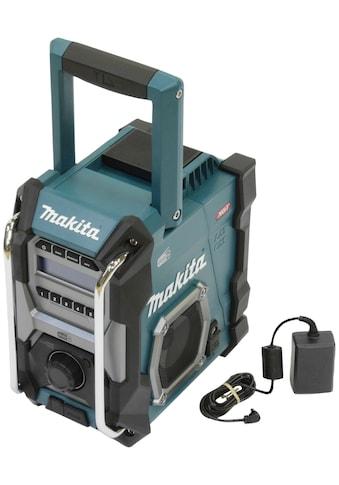 Makita Baustellenradio »MR003GZ«, (Digitalradio (DAB+), mit Netzteil, ohne Akku und... kaufen