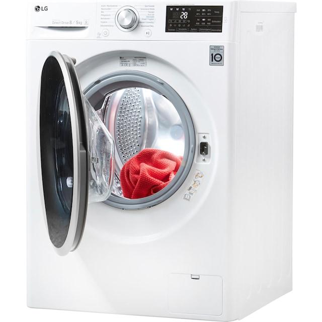 LG Waschtrockner Serie 5 F14WD85TN1, 8 kg / 5 kg, 1400 U/Min