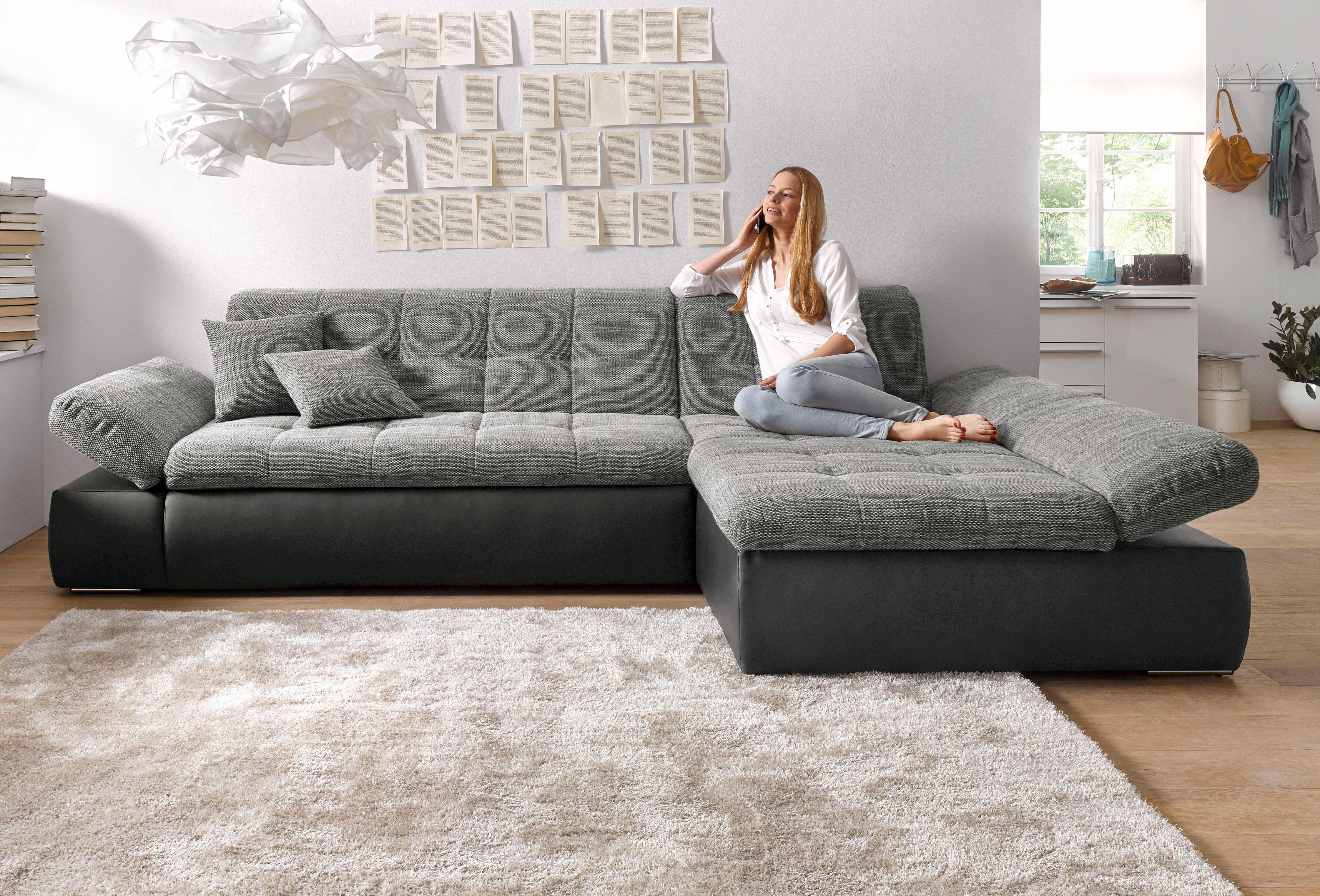 DOMO collection Ecksofa | Wohnzimmer > Sofas & Couches > Ecksofas & Eckcouches | DOMO COLLECTION