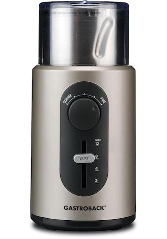 Gastroback Kaffeemühle 42601 Design Kaffeemühle Basic kaufen