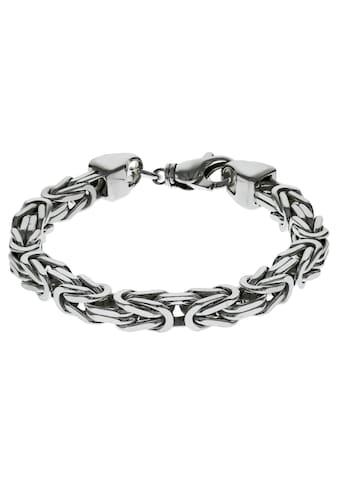 Firetti Silberarmband »in Königskettengliederung 4-kant, 8,0 mm breit«, Made in Germany kaufen