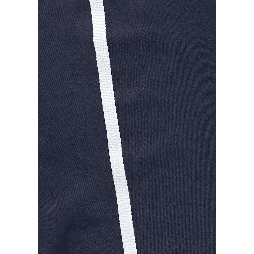 Aniston CASUAL Schlupfhose, mit sportiven Streifen