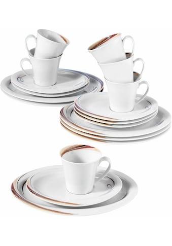 """Seltmann Weiden Kaffeeservice """"Top Life Aruba"""" (18 - tlg.), Porzellan kaufen"""
