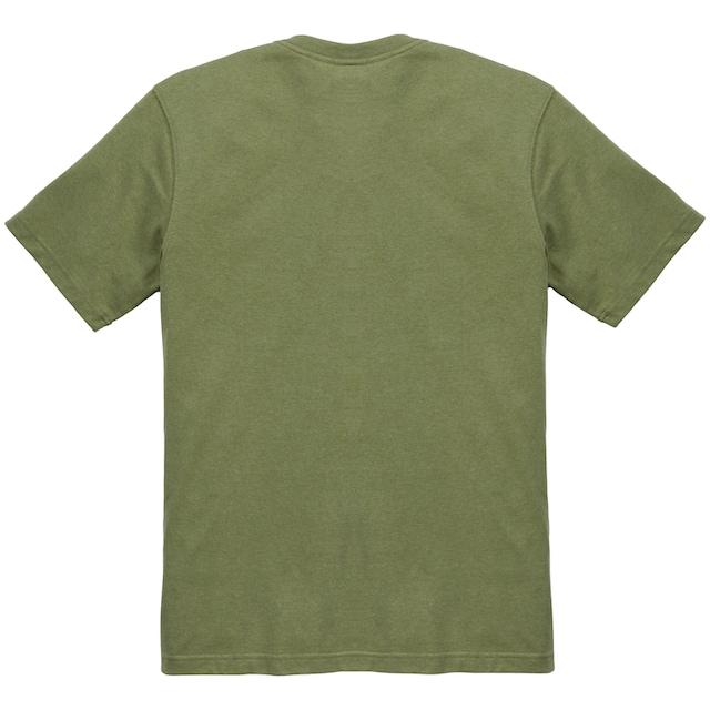 CARHARTT T-Shirt »C-LOGO GRAPHIC S/S T-SHIRT«, OIL GREEN HEATHER