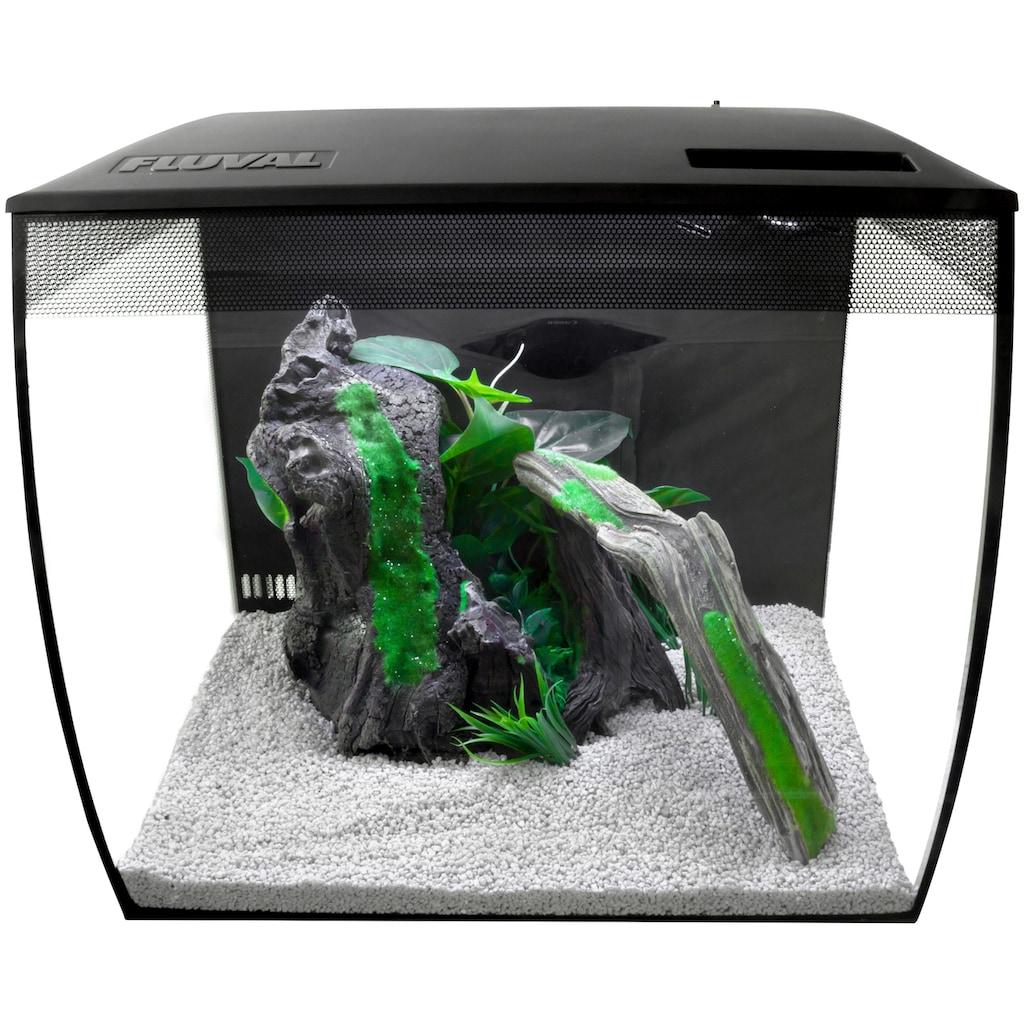 FLUVAL Aquarium »FL Flex«, BxTxH: 35x33x33 cm, 34 Liter, mit gebogener Frontscheibe