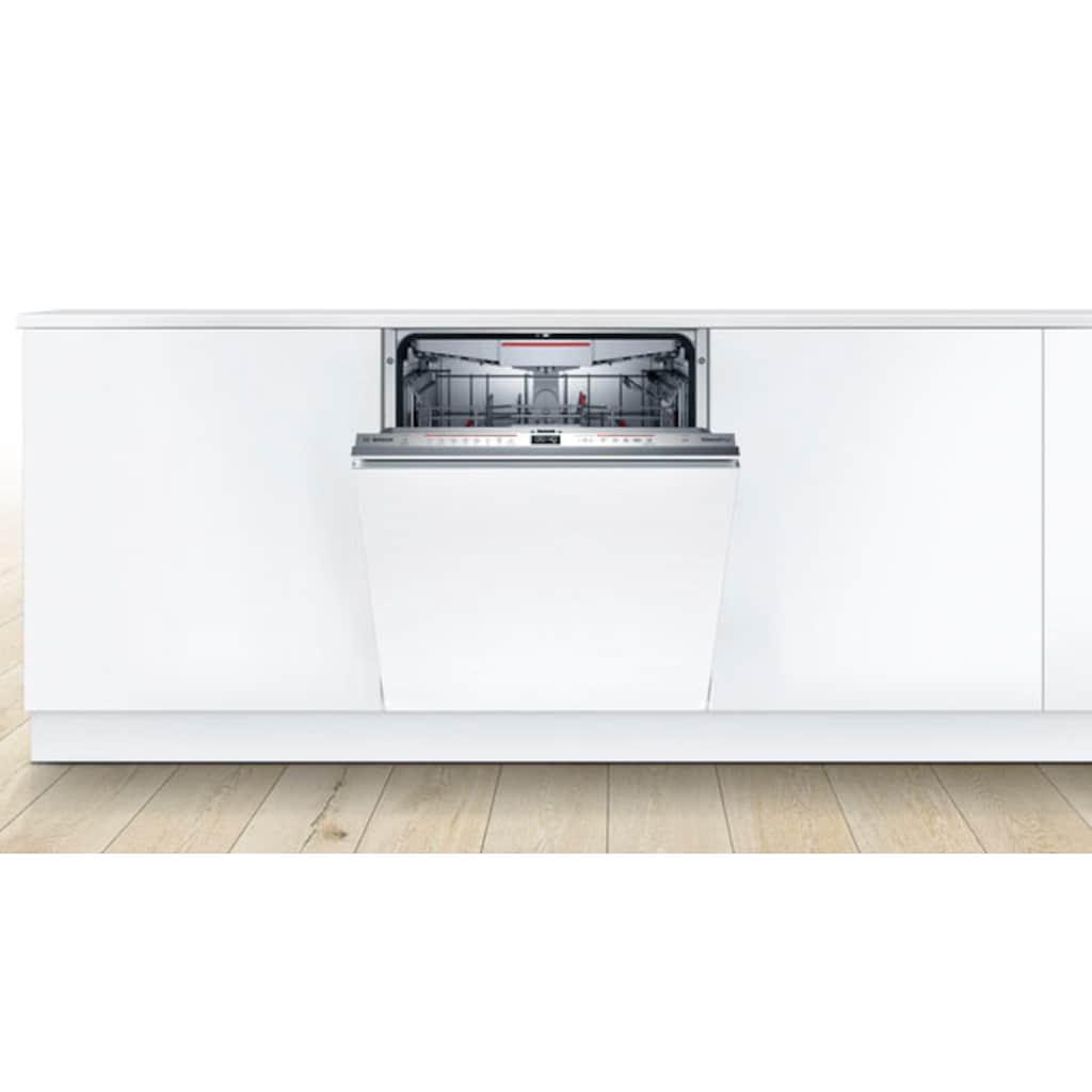 BOSCH vollintegrierbarer Geschirrspüler »SMD6ECX57E«, Serie 6, SMD6ECX57E, 9,5 l, 14 Maßgedecke