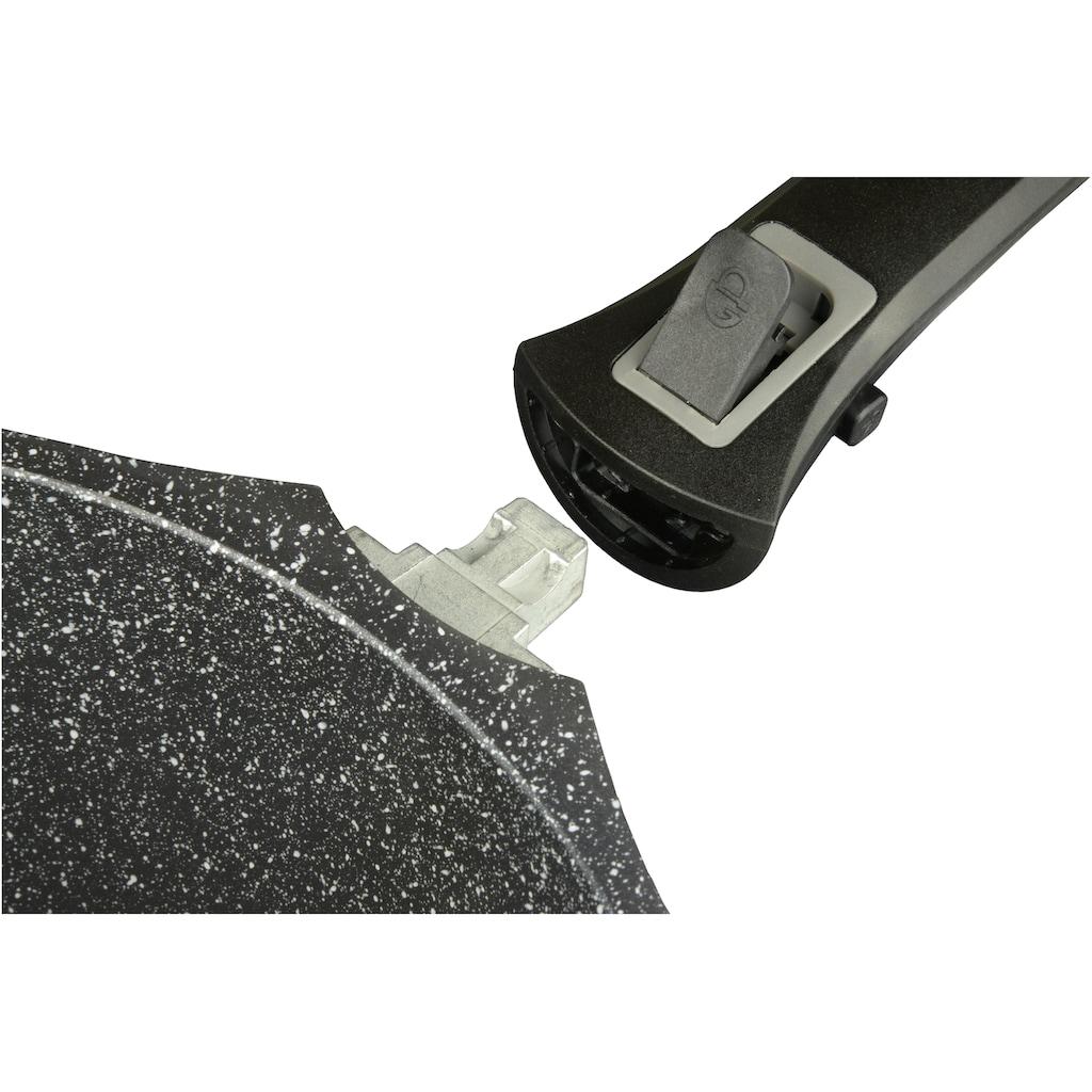 GSW Bratpfanne »Easy Click«, Aluminiumguss, (1 tlg.), abnehmbarer Griff, Induktion