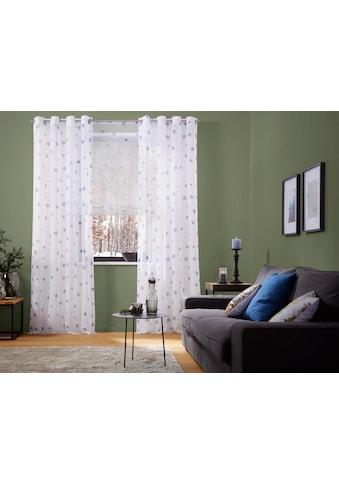 Raffrollo »Stern«, my home, mit Stangendurchzug kaufen