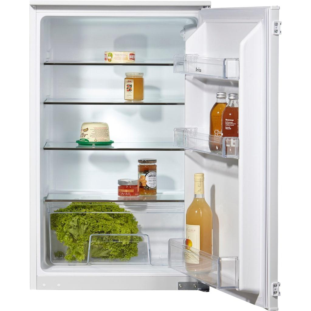 Amica Einbaukühlschrank, 87,5 cm