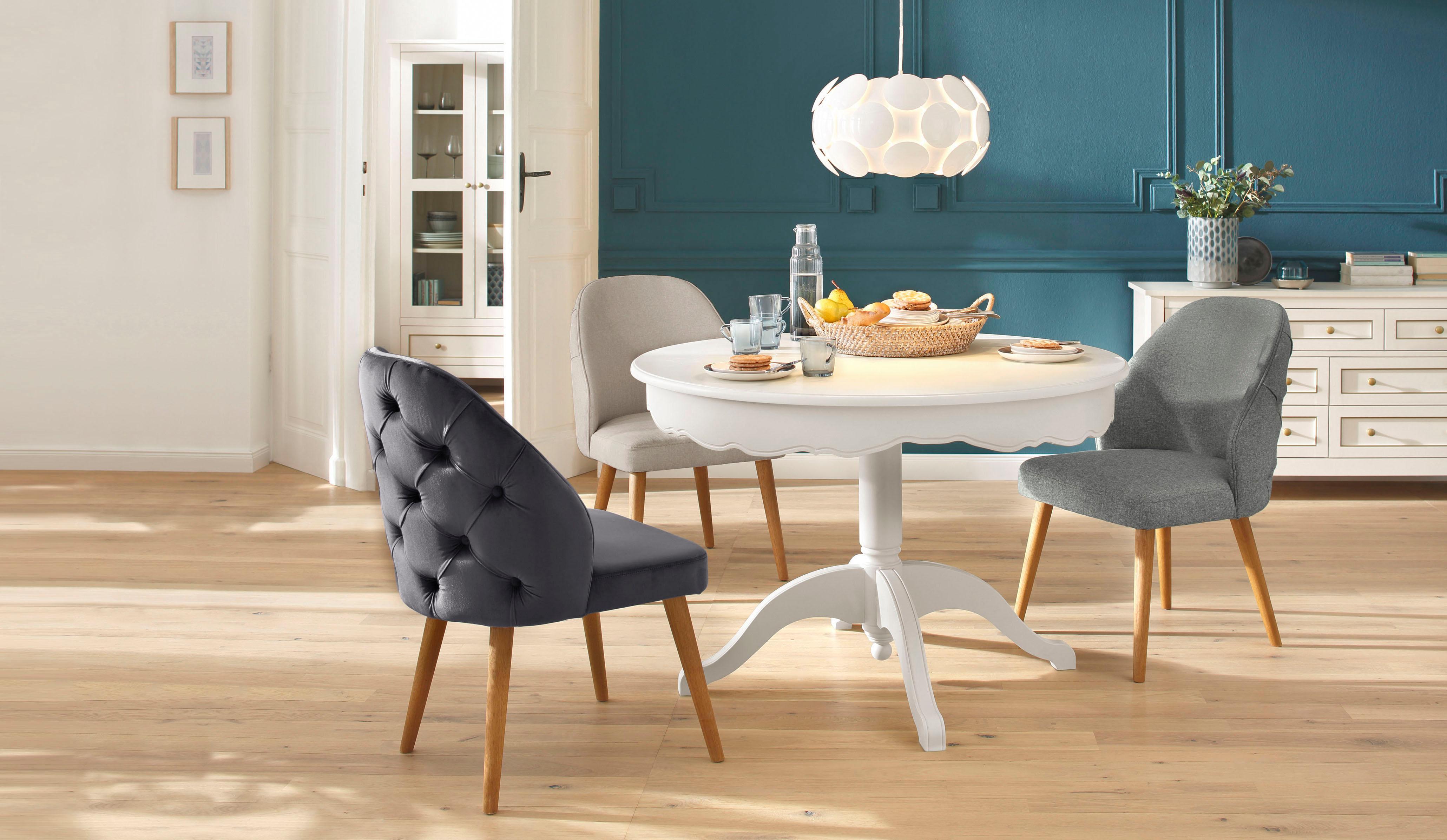 home affaire esszimmerstuhl desna in drei verschiedenen. Black Bedroom Furniture Sets. Home Design Ideas