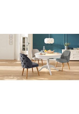 Home affaire 4-Fußstuhl »Desna«, in drei verschiedenen Farben und toller Holzoptik,... kaufen