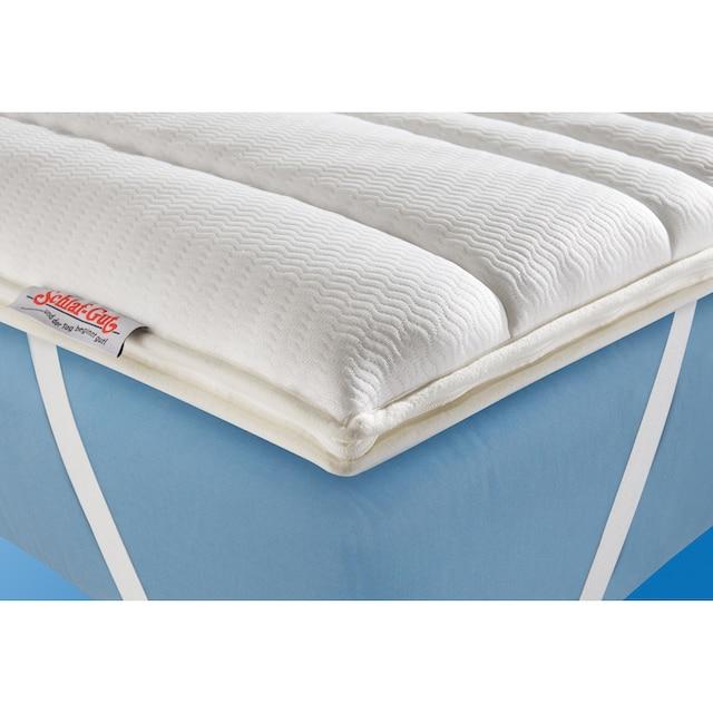 Topper »Schlaf-Gut Komfort TS«, Schlaf-Gut, 6 cm hoch, Raumgewicht: 28