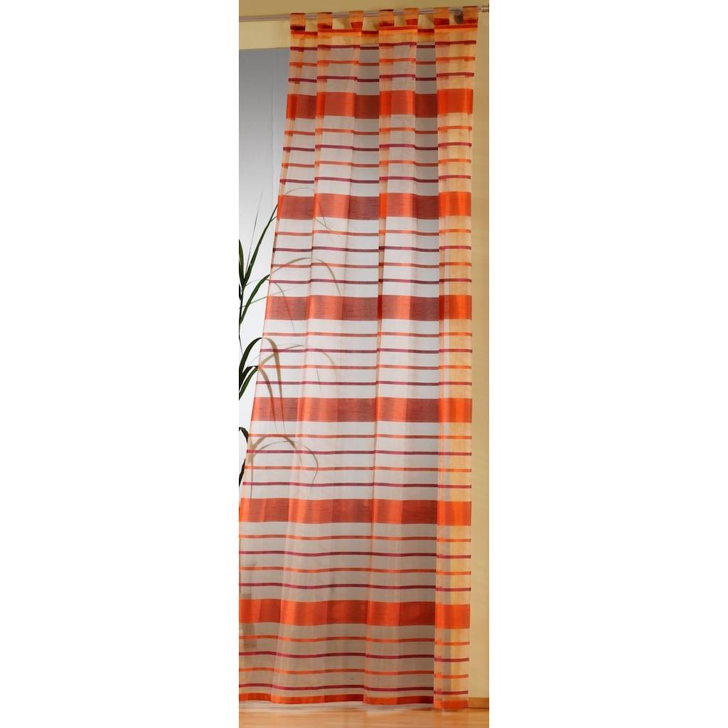 Weckbrodt Vorhang »Vera«, Schlaufen