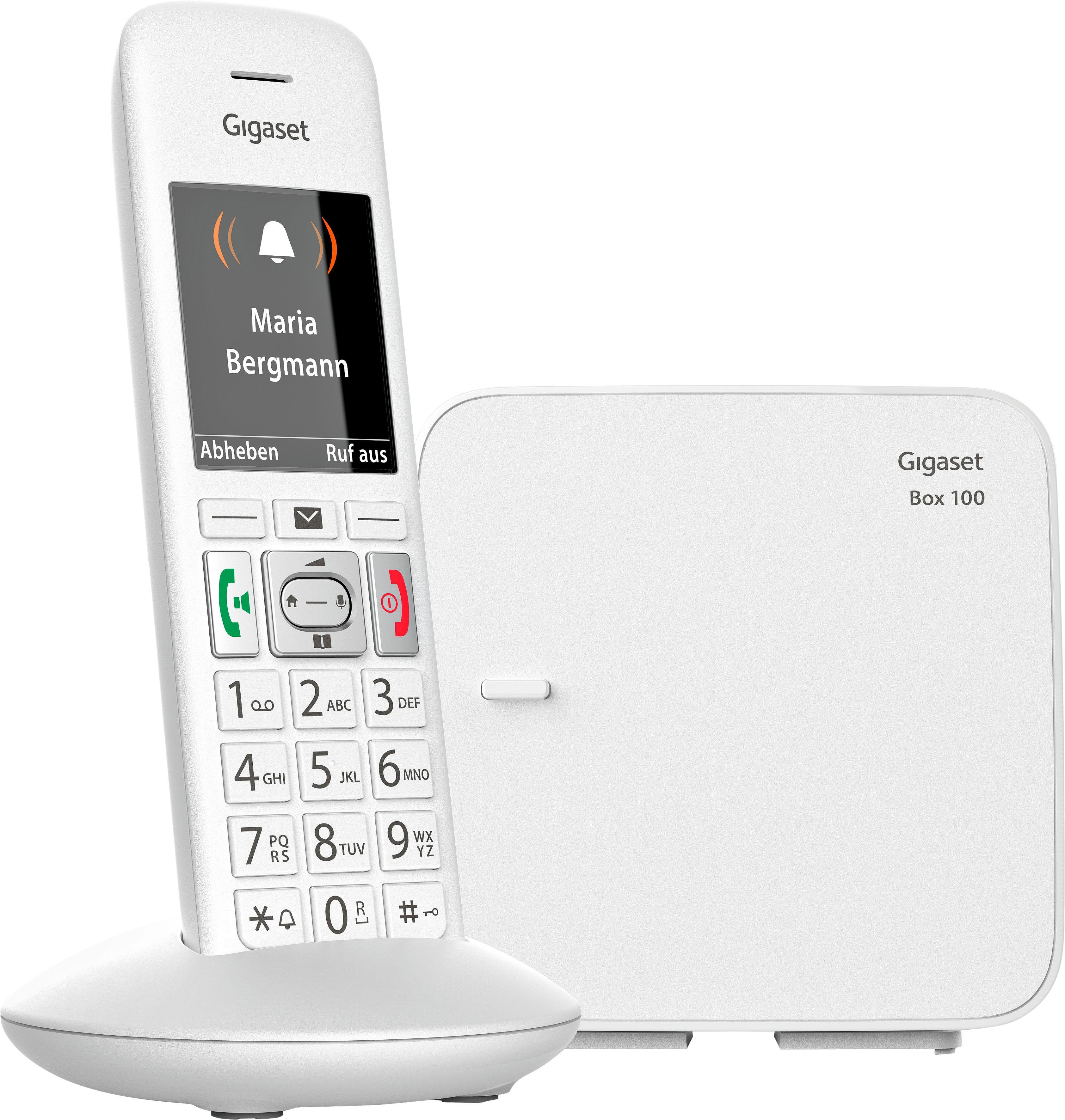gigaset e370 schnurloses dect telefon mobilteile 1. Black Bedroom Furniture Sets. Home Design Ideas
