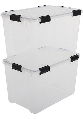 IRIS OHYAMA Aufbewahrungsbox »Water Proof ATLD« (Set, 2 Stück) kaufen