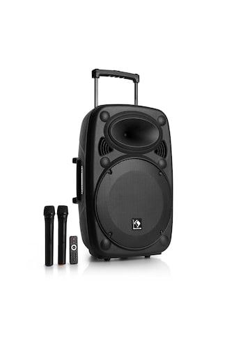 Auna Mobile PA Anlage Lautsprecher Box Subwoofer Trolley Bluetooth »PAS4 Streetstar 15« kaufen