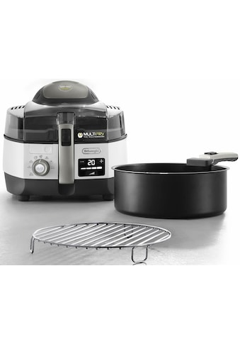 De'Longhi Heissluftfritteuse »MultiFry EXTRA CHEF PLUS FH1396«, Multicooker mit 4-in-1 Funktion, auch zum Brotbacken, Fassungsvermögen 1,7 kg kaufen