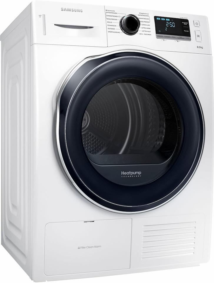 samsung trockner dv6000 dv80k6010cw eg 8 kg auf raten. Black Bedroom Furniture Sets. Home Design Ideas