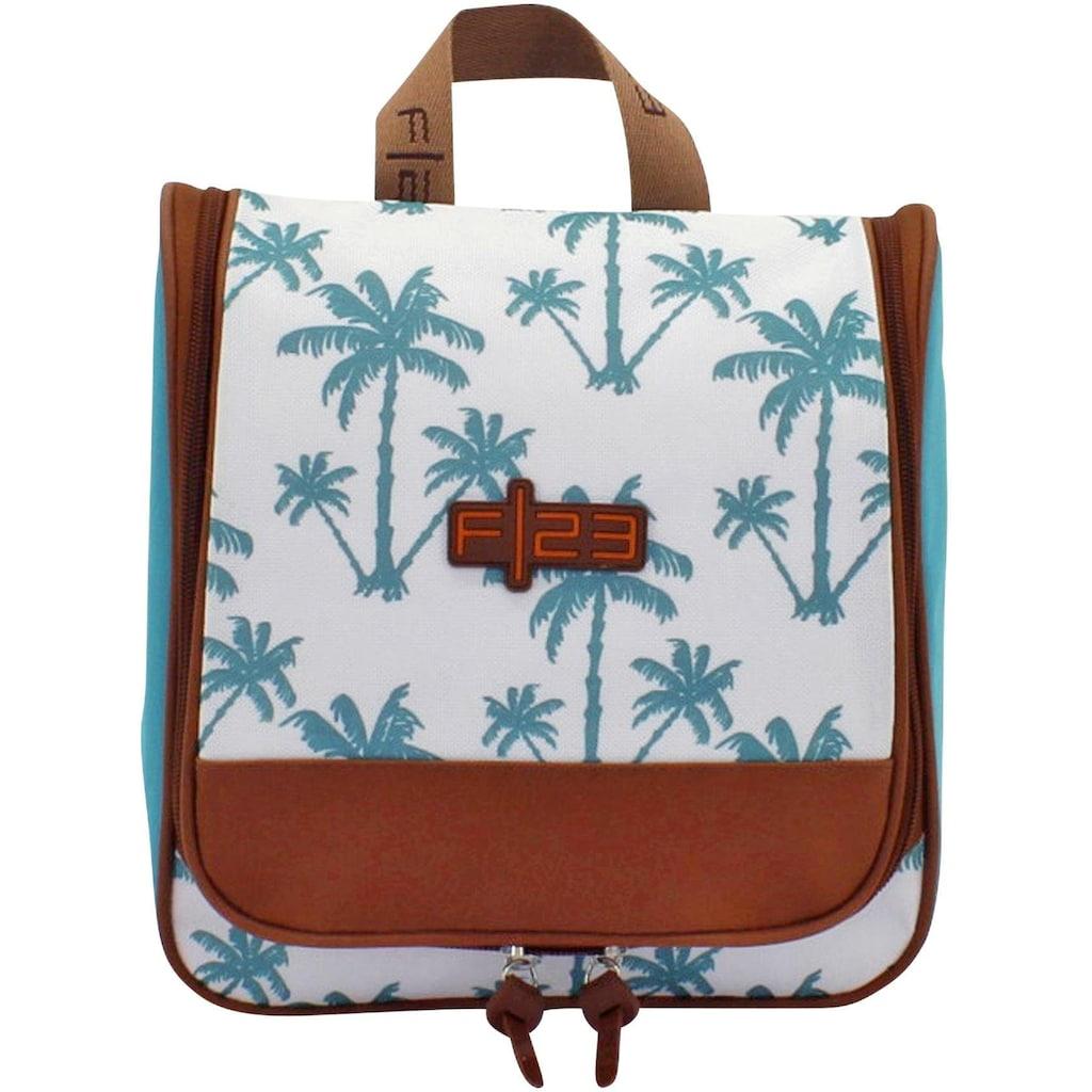 F23™ Kulturbeutel »Palm«, zum Aufhängen