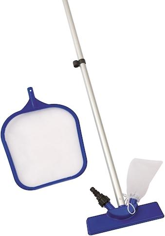 Bestway Poolbodensauger »Flowclear™«, Poolpflege Set mit Kescheraufsatz kaufen