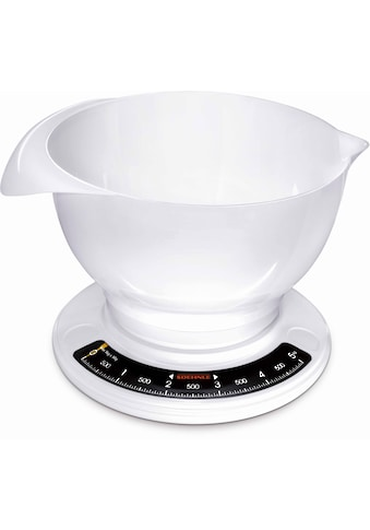 Soehnle Küchenwaage »Culina Pro«, (2 tlg.), mit großer Rührschüssel kaufen