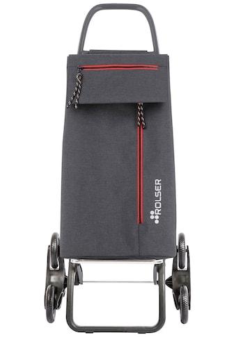 Rolser Einkaufstrolley »6L Wallaby Tweed«, (1 tlg.), Maße: 48,5x38,5x107,5 cm, Gestell... kaufen