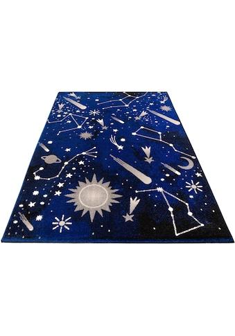 Lüttenhütt Kinderteppich »Alena«, rechteckig, 14 mm Höhe, für Kinder- und Jugendzimmer kaufen
