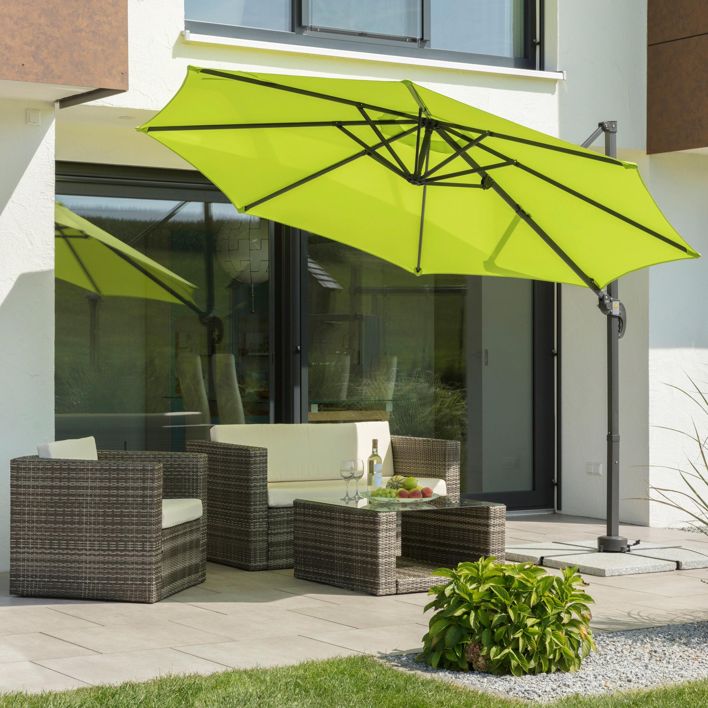 SCHNEIDER SCHIRME Ampelschirm »Rhodos Junior«   Garten > Sonnenschirme und Markisen > Sonnenschirme   Schneider Schirme