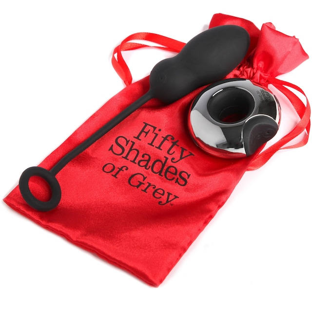 """Fifty Shades of Grey Vibro-Ei """"Relentless Vibrations"""""""