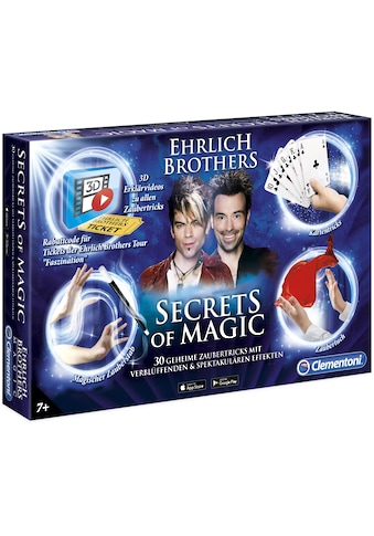 Clementoni® Zauberkasten »Ehrlich Brothers Secrets of Magic«, Made in Europe kaufen