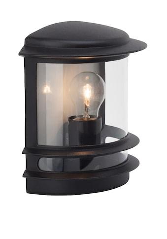 Brilliant Leuchten Außen-Wandleuchte »Hollywood«, E27, 1 St., Außenwandlampe schwarz kaufen