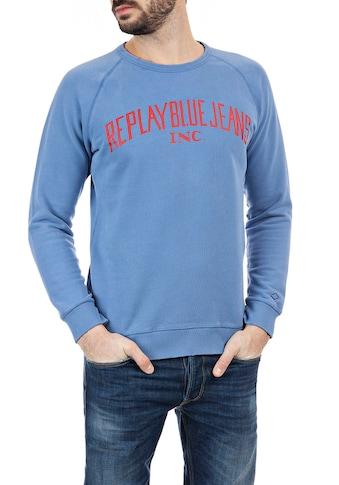 Replay Sweatshirt, in Raglan Optik kaufen