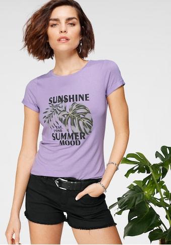 Tamaris T-Shirt, mit Frontprint kaufen