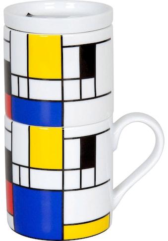 Könitz Kaffeebereiter »Hommage-Small Fragments«, Coffee for one, Porzellan kaufen