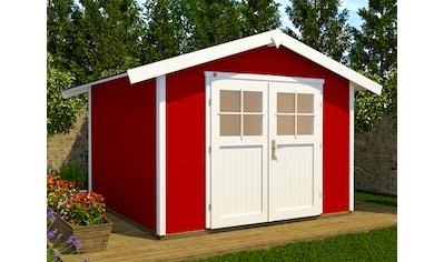 WEKA Gartenhaus »122 DT«, BxT: 380x276 cm, inkl. Fußboden kaufen