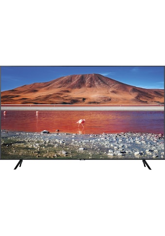 Samsung 65TU7079 LED - Fernseher (163 cm / (65 Zoll), 4K Ultra HD, Smart - TV kaufen