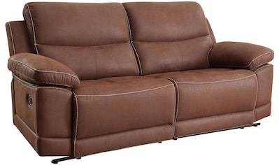 Home affaire 3-Sitzer »Molly«, mit Federkern-Polsterung und Relaxfunktion kaufen