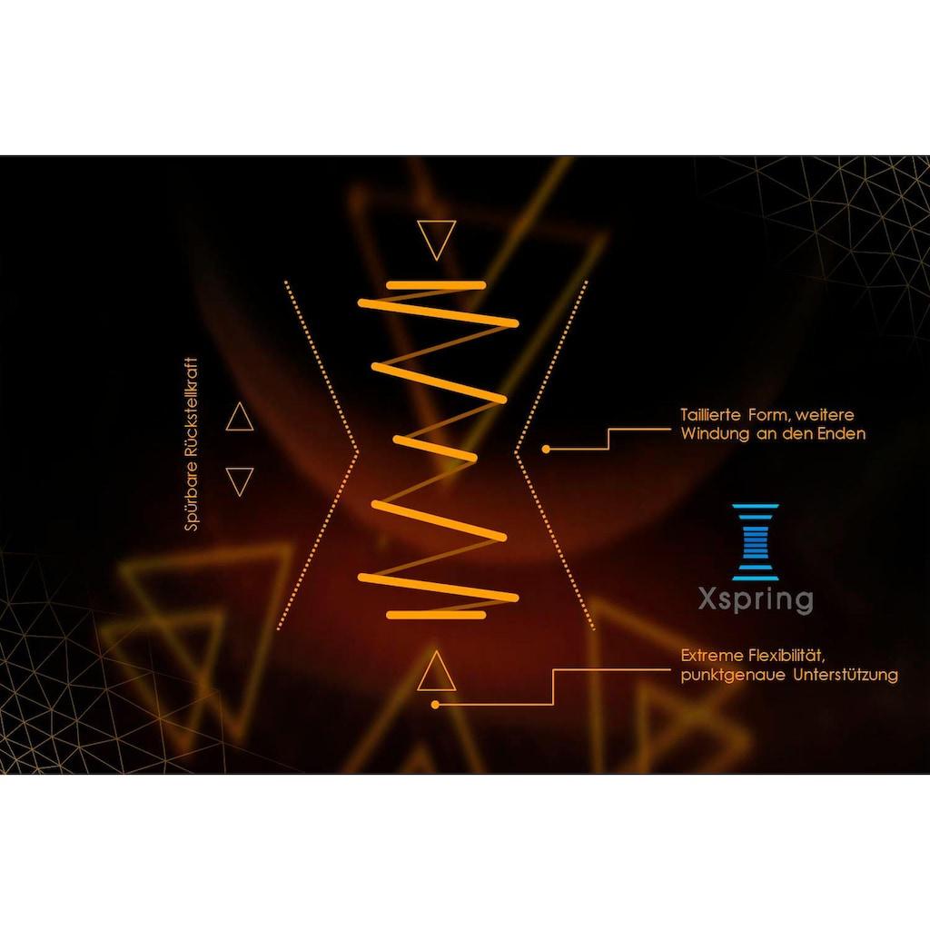 Schlaraffia Taschenfederkernmatratze »GELTEX® Quantum Touch 220 TFK«, 22 cm cm hoch, 420 Federn, (1 St.), 90 Nächte Probeschlafen!*