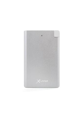 XLAYER Zusatzakku »Powerbank Pocket PRO Polymer Aluminium 2500mAh Sma« kaufen
