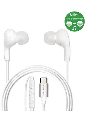 4smarts Kopfhörer »Akt. In - Ear Stereo Headset Melody USB Typ - C« kaufen
