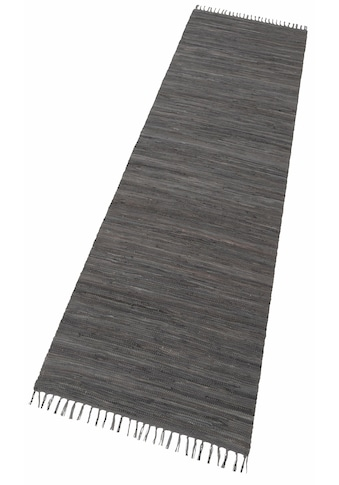 Läufer, »Happy Cotton Fleckerl«, THEKO, rechteckig, Höhe 5 mm, handgewebt kaufen