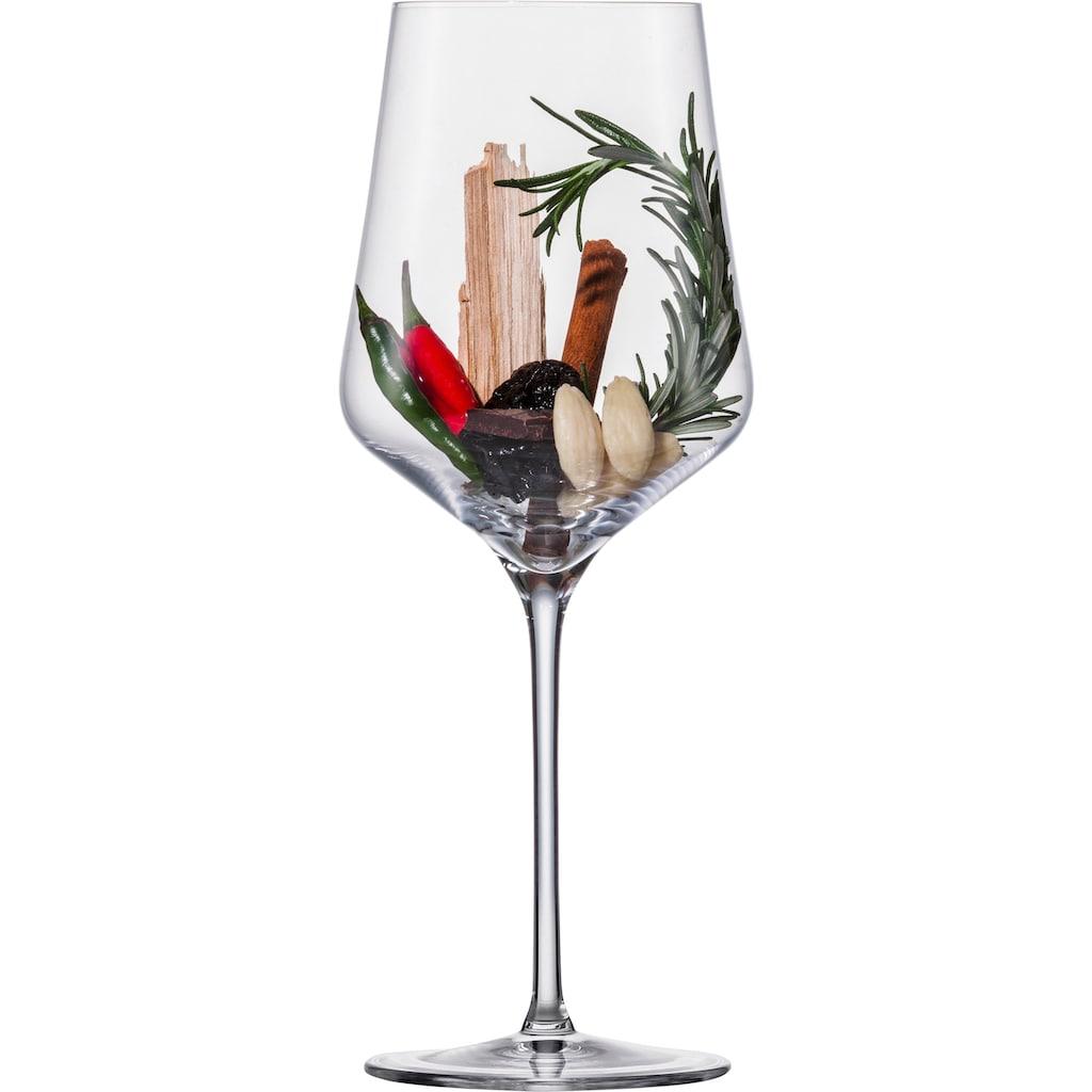 Eisch Rotweinglas »Sky SensisPlus«, (Set, 4 tlg.), (Bordeauxglas), Bleifrei, 620 ml, 4-teilig