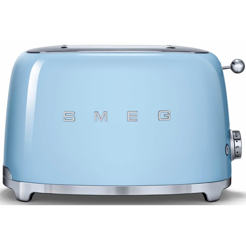 Smeg Toaster »TSF01PBEU«, für 2 Scheiben, 950 Watt