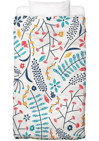 Juniqe Bettwäsche »Koromiko«, In vielen weiteren Designs erhältlich kaufen