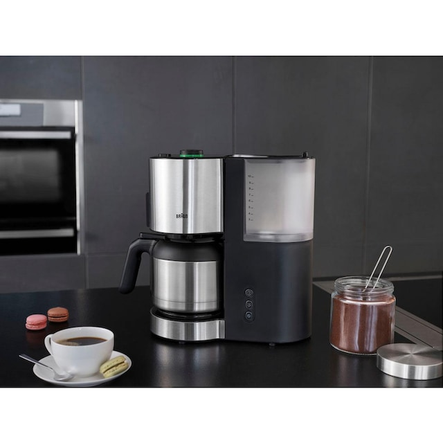 Braun Filterkaffeemaschine ID Collection Kaffeemaschine KF 5105 BK schwarz