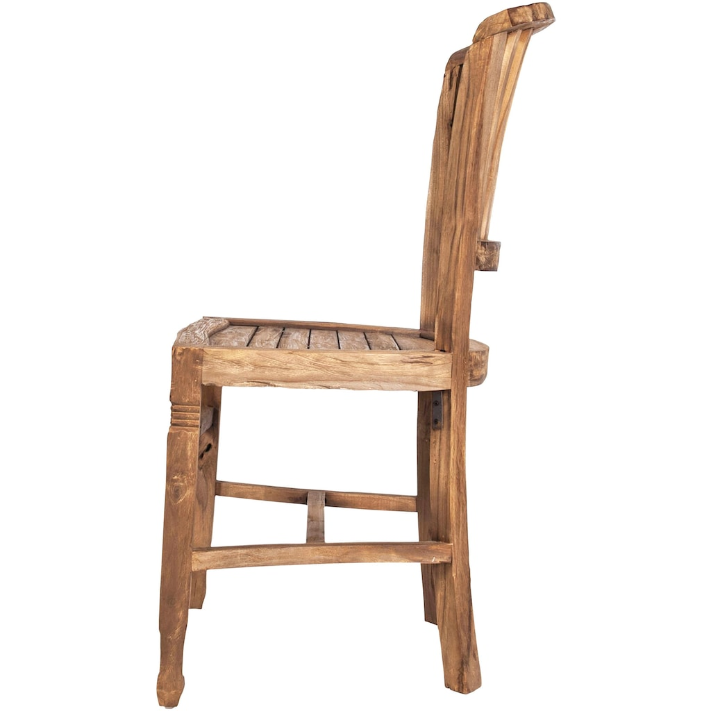 SIT Stuhl »Coral«, aus recyceltem Altholz