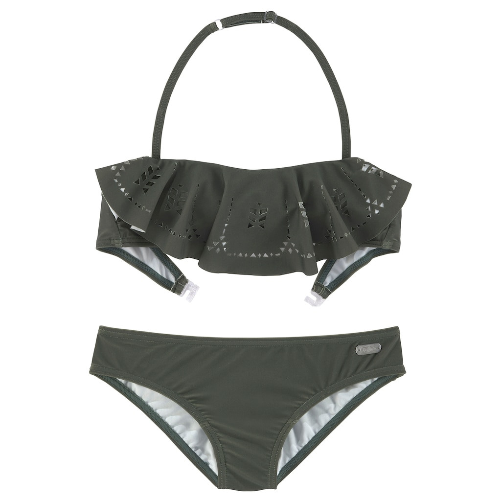 Buffalo Bandeau-Bikini, mit modischem Volant